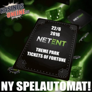 theme park: tickets of fortune netent net entertainment slot spelautomat