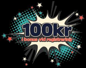100 kr bonus CasinoInternet