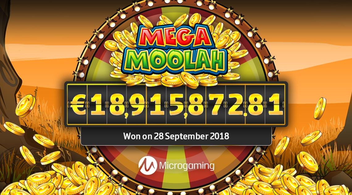 Mega Moolah 18m Jackpot 1080 x 600