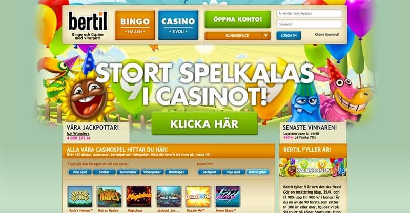 bertil kasino