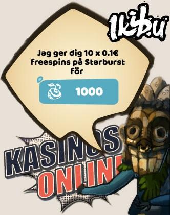 ikibu kasino bonus gratissnurr free spins