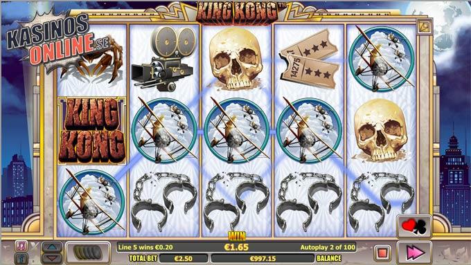 king kong spelautomat nextgen