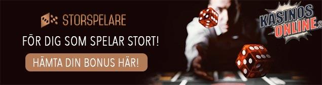 storspelare kasino bonus