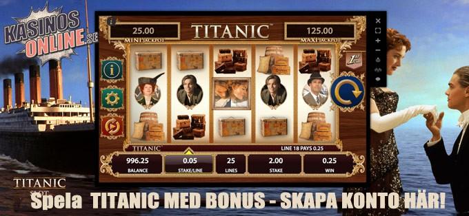 titanic bonus
