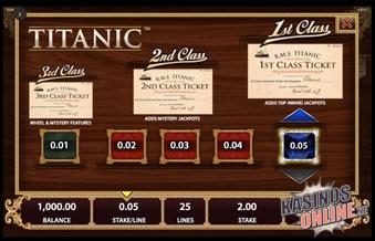 titanic kasino